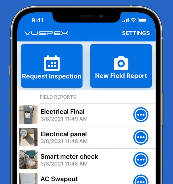 Virtual Inspection Software - VuSpex device phone GO