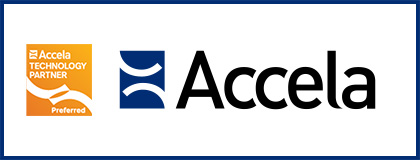 Accela integrated VuSpex AC and Accela Preferred technology Provider badge